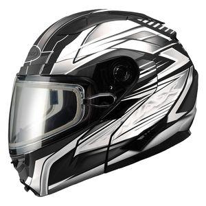 GMax GM64S Carbide Snow Helmet - Dual Lens
