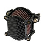 Joker Machine V Fin Omega Air Cleaner For Harley Big Twin 1999-2017