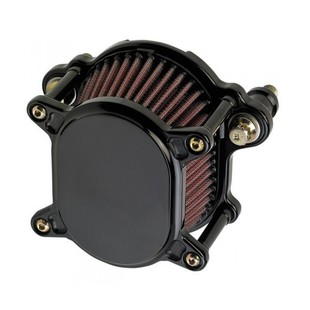 Joker Machine Smooth Omega Air Cleaner For Harley Big Twin 1999-2017