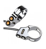 Joker Machine LED Rat Eye Front Fork Turn Signals