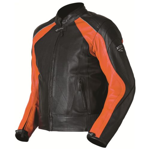 AGV Sport Breeze Perforated Leather Jacket - RevZilla