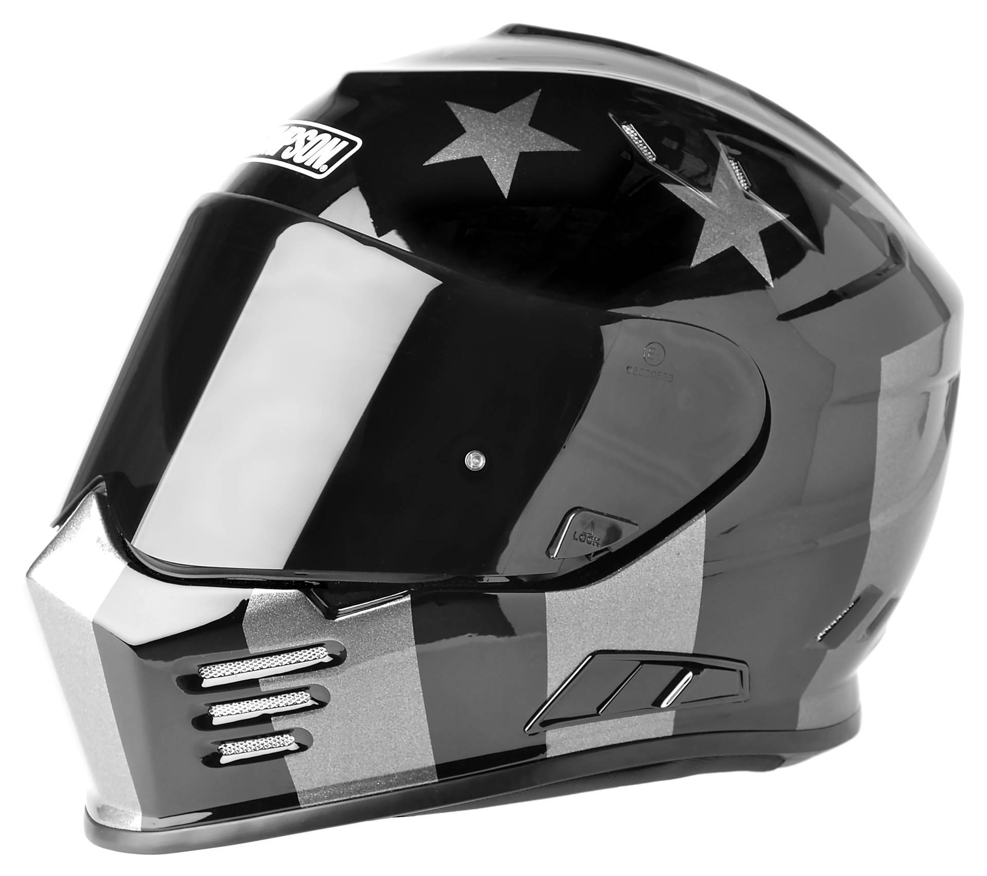 Carbon Fiber Motorcycle Helmets >> Simpson Ghost Bandit Subdued Helmet - RevZilla