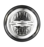 "Drag Specialties LED 5 3/4"" Headlight For Harley"