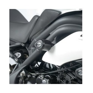 R&G Racing Aero Frame Sliders Triumph Speed Triple / R / S Black / Rear [Previously Installed]