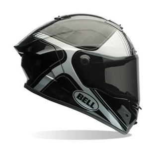 Bell Pro Star Tracer Helmet Black/Silver / XL [Blemished - Very Good]
