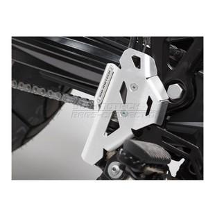 SW-MOTECH Rear Brake Master Cylinder Guard BMW F800GS / Adventure / F700GS / F650GS / Husqvarna TR650 Strada / Terra Si... [Previously Installed]