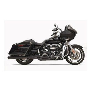 Bassani Road Rage 2-Into-1 Exhaust For Harley Touring 2017