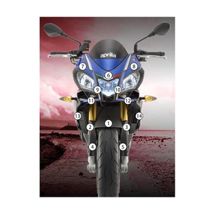 Eazi-Grip Eazi-Guard Protective Film Kit Aprilia Tuono V4 RR / Factory 2015-2016