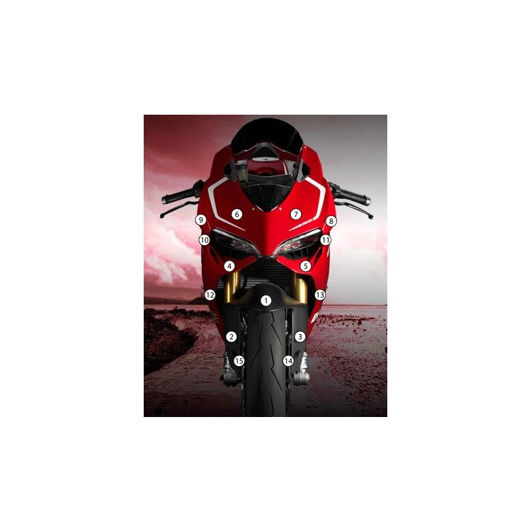 Eazi-Grip Eazi-Guard Protective Film Kit Ducati 959 / 1299 / S 2012-2018