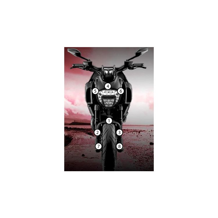 Eazi-Grip Eazi-Guard Protective Film Kit Ducati Diavel 2011-2018