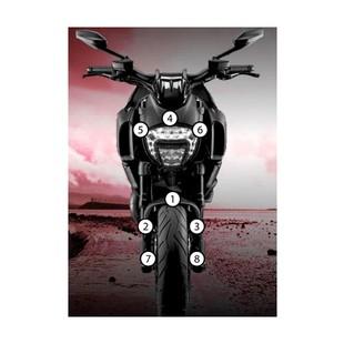 Eazi-Grip Eazi-Guard Protective Film Kit Ducati Diavel 2011-2017