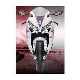 Eazi-Grip Eazi-Guard Protective Film Kit Honda CBR1000RR 2012-2016