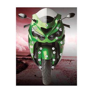Saddlemen Gel-Channel Tech Seat Kawasaki ZX14R 2006-2019 - RevZilla