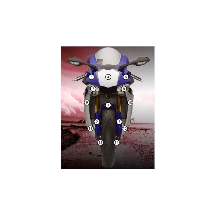 Eazi-Grip Eazi-Guard Protective Film Kit Yamaha R1 / R1S 2015-2018