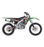 Factory Effex Metal Mulisha Shroud / Airbox Graphics Kit Kawasaki KX250F 2009-2012
