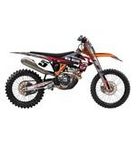 Factory Effex Metal Mulisha Shroud / Airbox Graphics Kit KTM SX / SX-F / EXC / XC 2007-2012