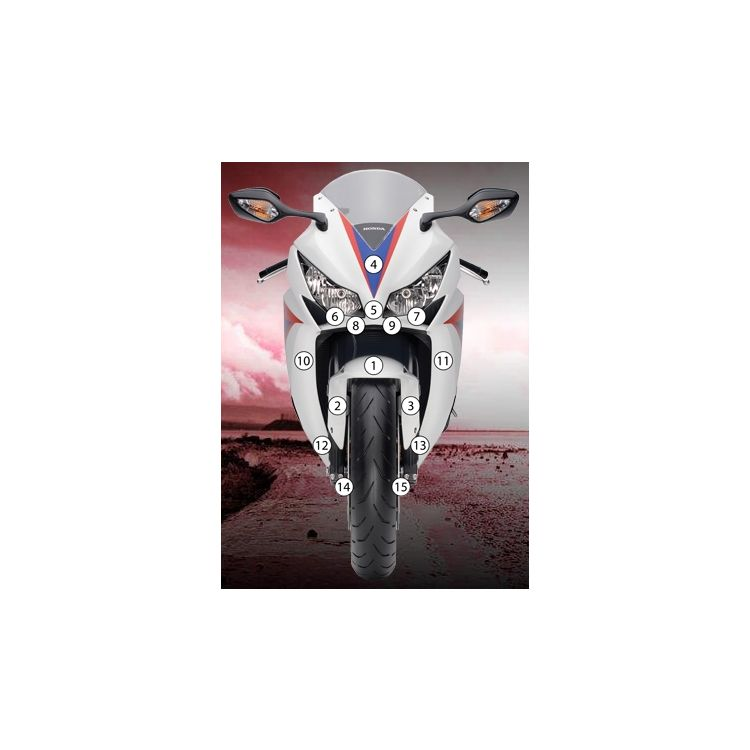 Eazi-Grip Eazi-Guard Protective Film Kit Honda CBR1000RR 2008-2011