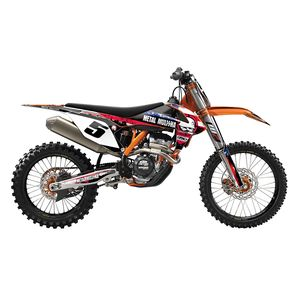 Factory Effex Metal Mulisha Shroud / Airbox Graphics Kit KTM SX / SX-F 125cc-450cc 2016-2018