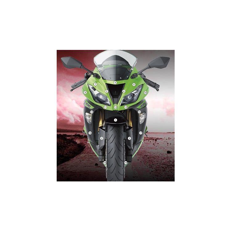Eazi-Grip Eazi-Guard Protective Film Kit Kawasaki ZX6R / ZX636 2013-2018