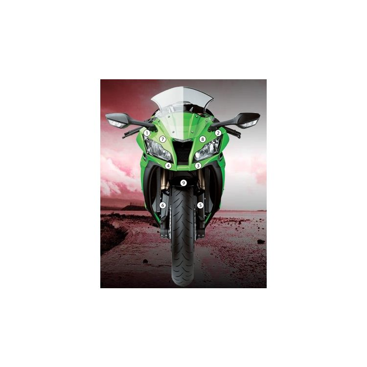 Eazi-Grip Eazi-Guard Protective Film Kit Kawasaki ZX10R 2011-2015