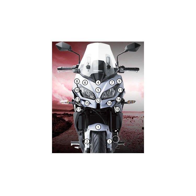 Eazi-Grip Eazi-Guard Protective Film Kit Kawasaki Versys 650 2015-2018