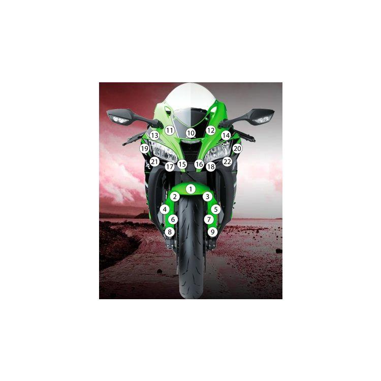 Eazi-Grip Eazi-Guard Protective Film Kit Kawasaki ZX10R 2016-2020
