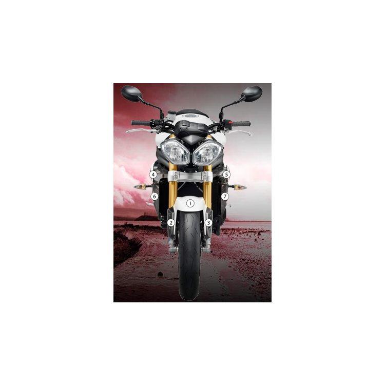 Eazi-Grip Eazi-Guard Protective Film Kit Triumph Speed Triple / R 2011-2016