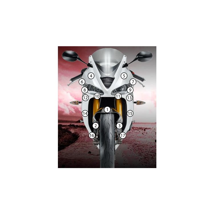 Eazi-Grip Eazi-Guard Protective Film Kit Triumph Daytona 675 / R 2013-2018