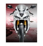 Eazi-Grip Eazi-Guard Protective Film Kit Triumph Daytona 675 / R 2013-2017