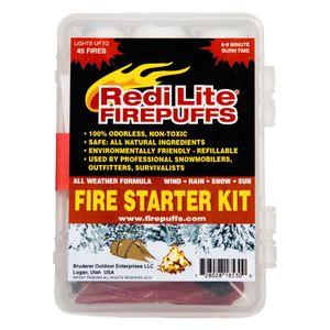 Redi Lite Firepuffs Complete Fire Starter Kit