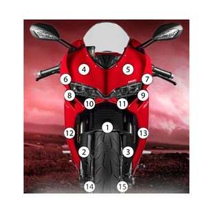 Eazi-Grip Eazi-Guard Protective Film Kit Ducati 899 / 1199 Panigale