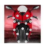 Eazi-Grip Eazi-Guard Protective Film Kit Ducati 899 / 1199 Panigale