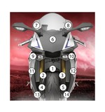 Eazi-Grip Eazi-Guard Protective Film Kit Yamaha R1M 2015-2017