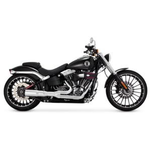 Vance & Hines Hi-Output 2-Into-1 Short Exhaust For Harley Breakout / Rocker 2008-2017