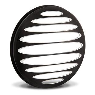 Arlen Ness Deep Cut Headlight Bezel For Harley Black [Open Box]