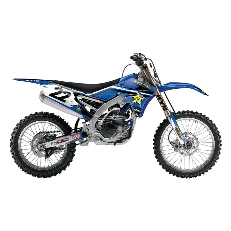 Factory Effex Rockstar Shroud / Airbox Graphics Kit Yamaha YZ250F / YZ450F 2014-2017