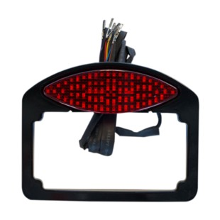 Russ Wernimont LED Cat Eye Taillight Turn Signal License Plate