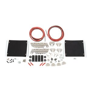 Drag Specialties Saddlebag Hardware Kit For Harley Touring
