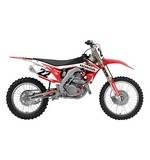 Factory Effex EVO 14 Shroud / Airbox Graphics Kit Honda CR125R / CR250R 1997-1999