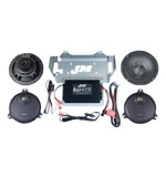 J&M Rokker XXR Extreme 330W Speaker And Amplifier Kit For Harley Touring 2014-2017
