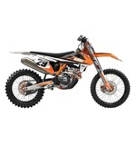 Factory Effex EVO 14 Shroud / Airbox Graphics Kit KTM SX50 / Adventure 50 2002-2008