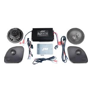 J&M Rokker XXR Extreme 330W Speaker And Amplifier Kit For Harley Road Glide 2015-2017
