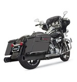 """Bassani 4"""" DNT Straight Can Slip-On Mufflers For Harley Touring"""
