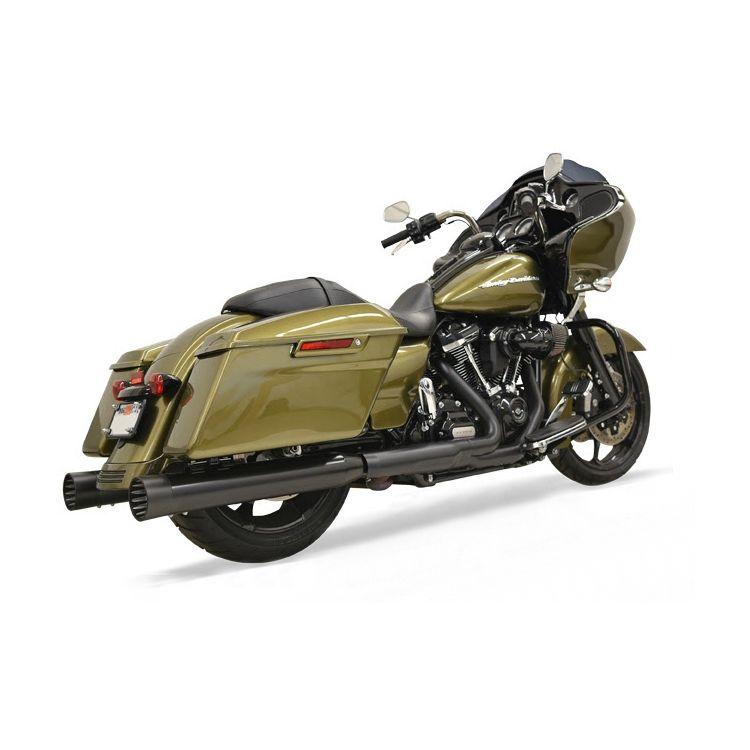 "Bassani 4"" Quick Change Series Mufflers For Harley"