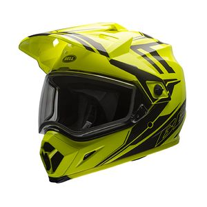 Bell MX-9 Adventure Barricade Snow Helmet - Dual Lens
