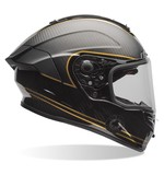 Bell Race Star Ace Cafe Speed Check Helmet Black/Gold / LG [Blemished - Very Good]
