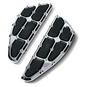 Roland Sands Traction Driver Floorboards For Harley FL 1984-2018