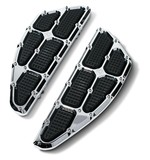 Roland Sands Traction Driver Floorboards For Harley FL 1984-2017