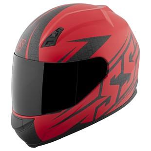 Speed and Strength SS700 Hammer Down Helmet Matte Red / 2XL [Open Box]