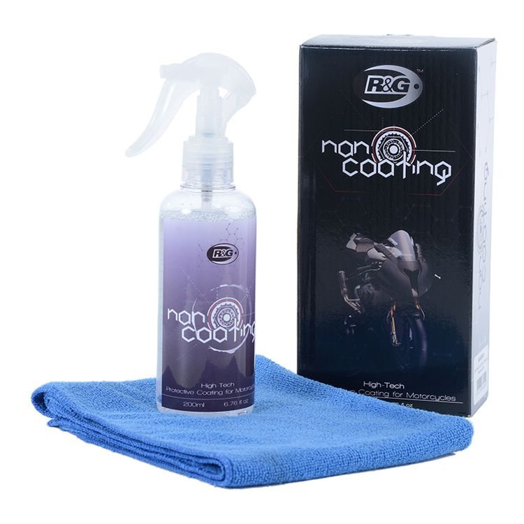R&G Nano Coating Motorcycle Cleaner Kit